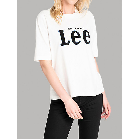 Lee European Collection - Short Sleeve Lee Logo Tee