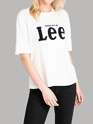 Women's Lee European Collection Short Sleeve Lee Logo Tee