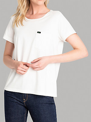 Women's Lee European Collection One-Pocket Short Sleeve Logo Tee