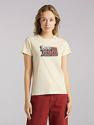 Women's Lee European Collection Americana Lee Jeans Graphic Tee
