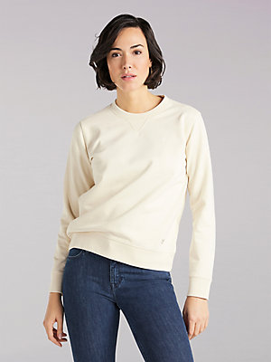 Women's Lee European Collection Sustainable Crew Neck Sweatshirt