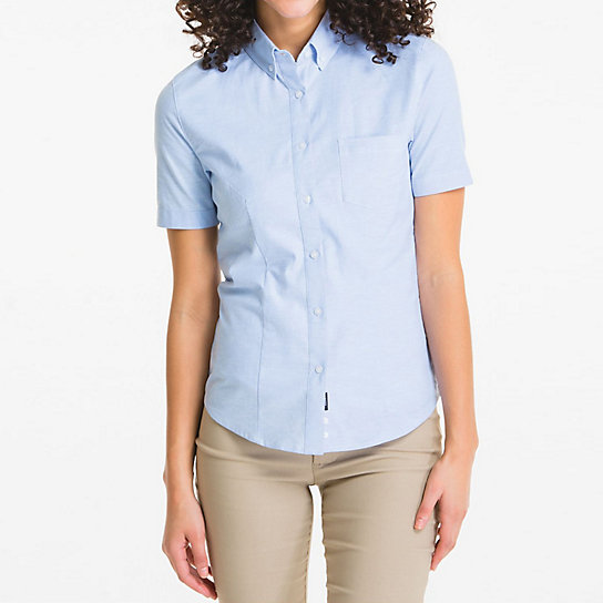 Shapely Short Sleeve Oxford - Uniforms