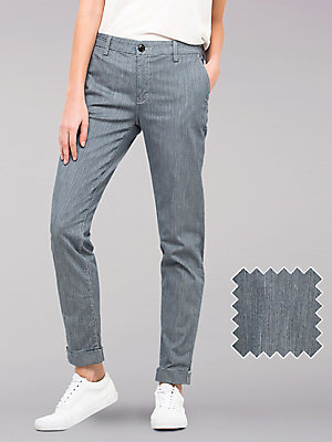 Women's Lee European Collection Slim Chino Pant