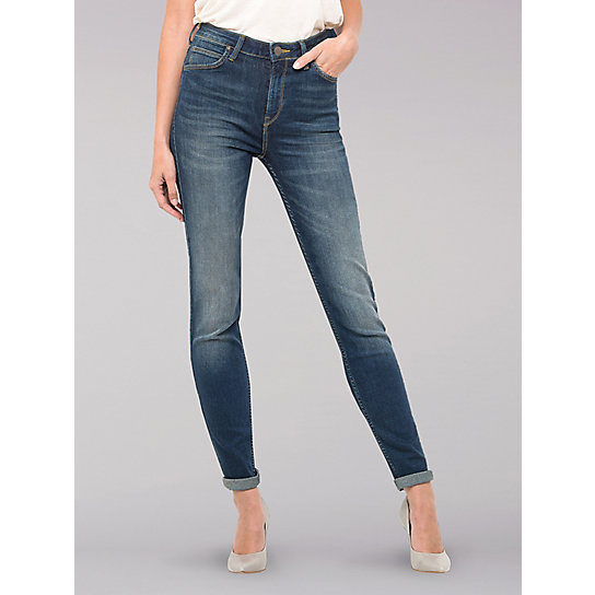 Lee European Collection - Scarlett Mid-Rise Skinny Jeans