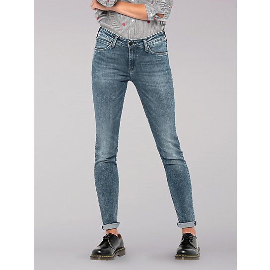 Lee European Collection - Scarlett Mid Rise Skinny Jeans