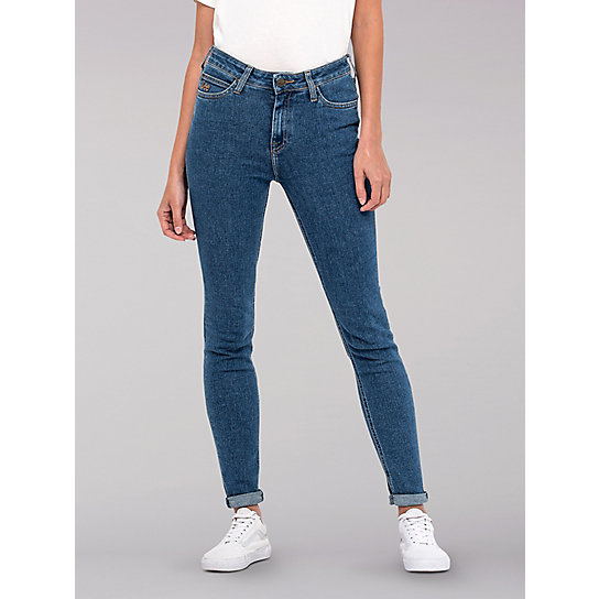 43fe7f746a3ae9 Lee European Collection - Scarlett High Rise Skinny Jeans | Lee