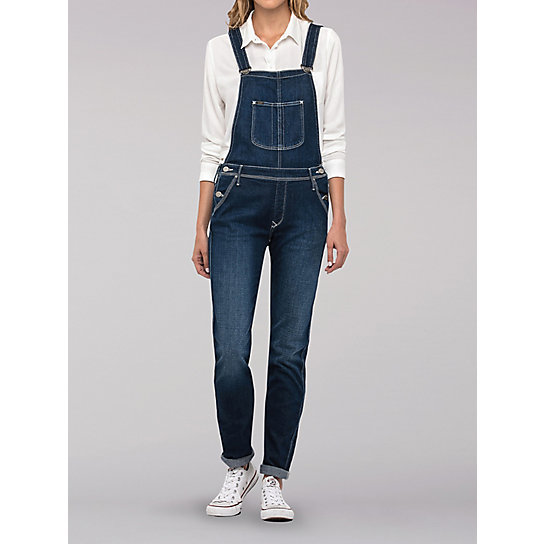 Lee European Collection - Relaxed Bib Overall - Range Blue
