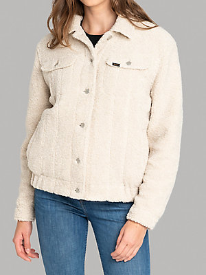 Women's Lee European Collection Sherpa Rider Jacket