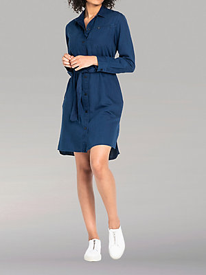 Women's Lee European Collection Tencel Shirt Dress