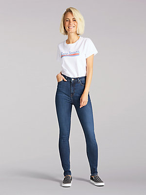 Women's Lee European Collection Ivy Super High Super Skinny Jean