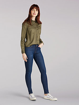 Women's Lee European Collection Jodee Super Skinny Fit Ankle Jean