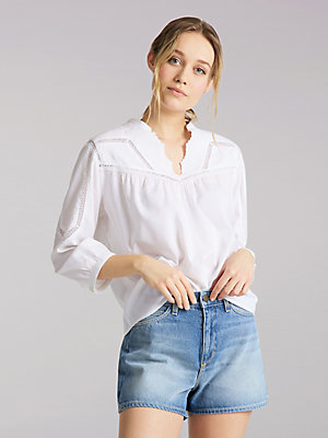 Women's Lee European Collection Boho Blouse
