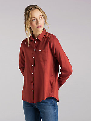 Women's Lee European Collection Regular Western Shirt