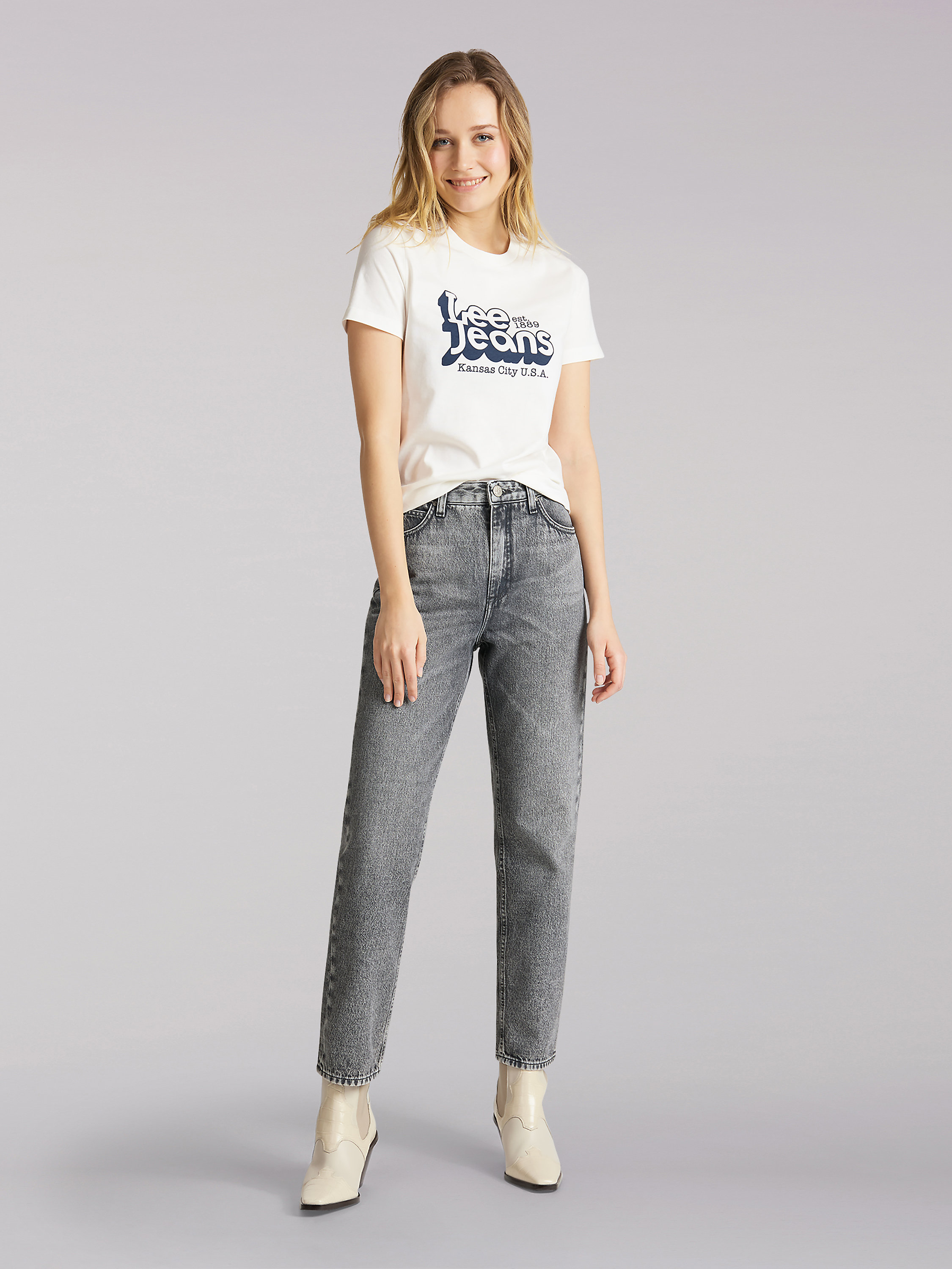 Euro Collection '90s Carol Cropped Jean