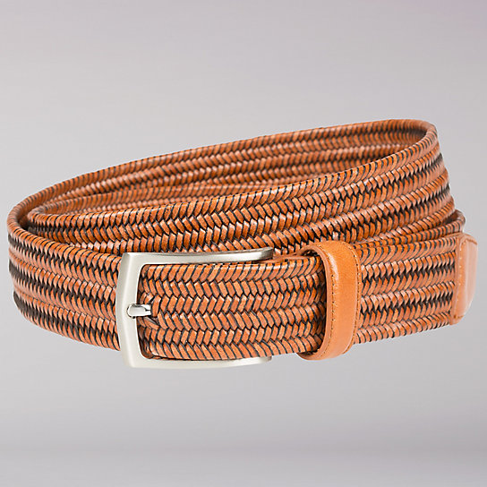 Stretch Woven Braid Belt