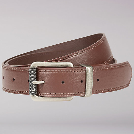 Flat Strap With Double Edge Stitch Belt