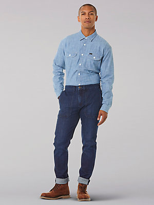 Men's Military Austin Tapered Indigood™ Jean