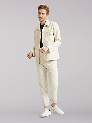 Men's Lee European Collection Back To Nature Button-Fly Carpenter Pant