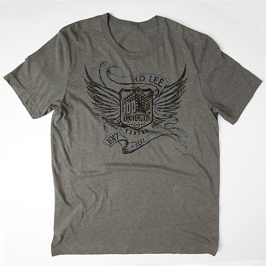 Lee Scroll & Wings Tee