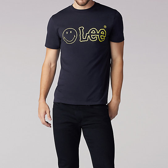 Lee x Smiley Men's Logo Tee
