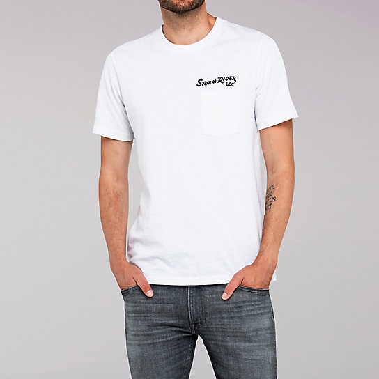 Lee European Collection - Storm Rider Tee - White