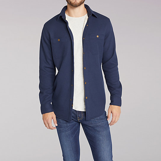 6683c55d52 Sherpa Lined Shirt Jacket