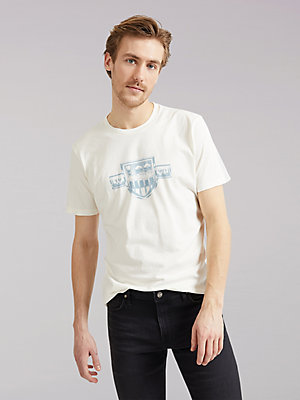 Men's Lee European Collection Chest Logo Tee