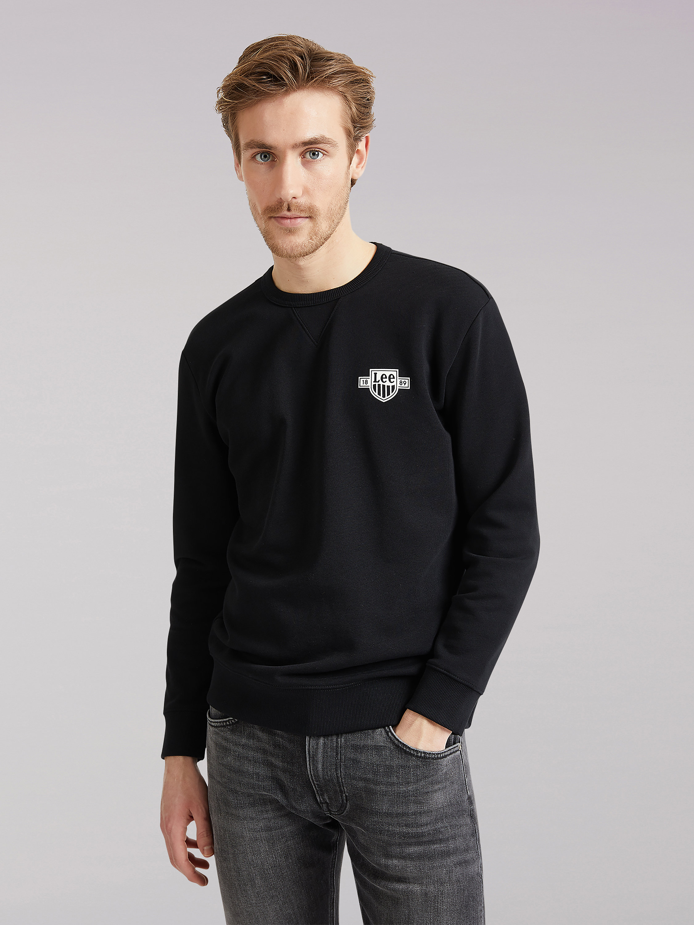 LEE EUROPEAN COLLECTION LOGO SWEATSHIRT