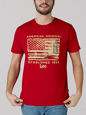 Men's American Original Flag Graphic Tee