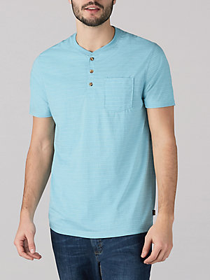 Men's Grindle Jersey Short Sleeve Henley Shirt