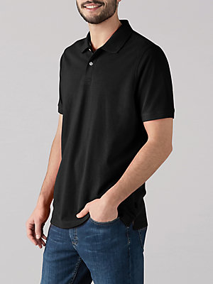 Men's Solid Core Polo