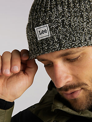Men's Lee European Collection Logo Beanie