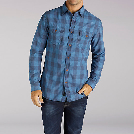 Long Sleeve Buffalo Plaid Shirt