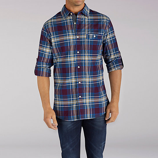 Long Sleeve Titus Plaid Shirt