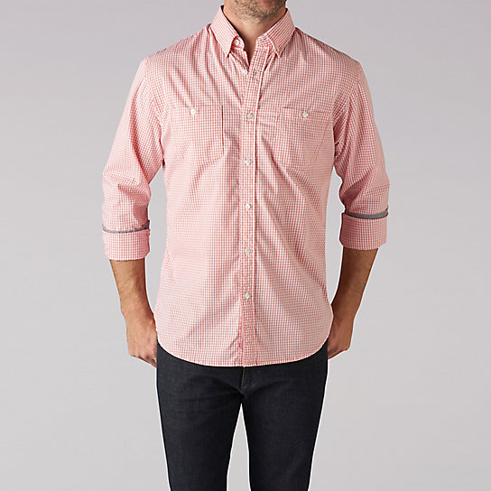 Extreme Motion Gingham Shirt