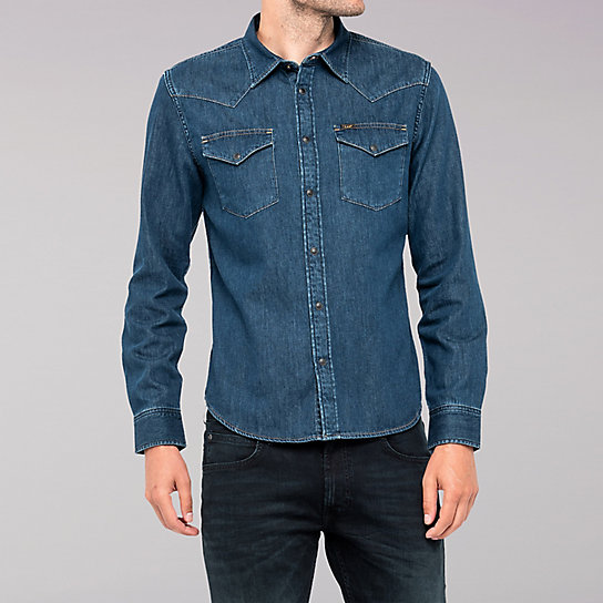 Lee European Collection - Western Shirt - Rinse