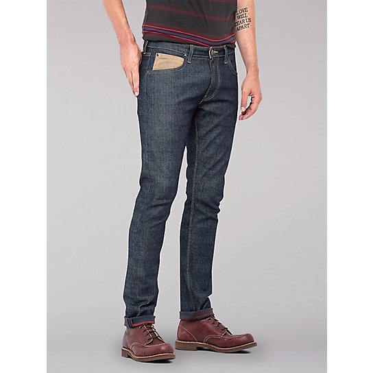 Lee European Collection - Luke Slim Tapered Storm Rider Jean - Rinse