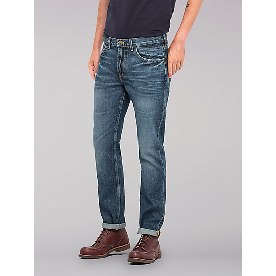 Lee European Collection - Rider Slim Leg Jean - Vintage Worn