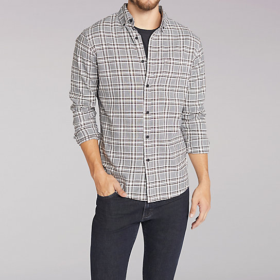 Long Sleeve Grindle Plaid Shirt