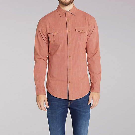 Micro Check Shirt - Big & Tall