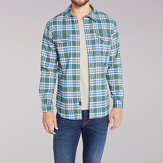 Long Sleeve Stellan Plaid Shirt - Big & Tall