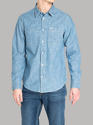 Men's Lee European Collection Worker Shirt