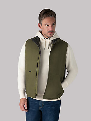 Men's Sherpa Lined Vest