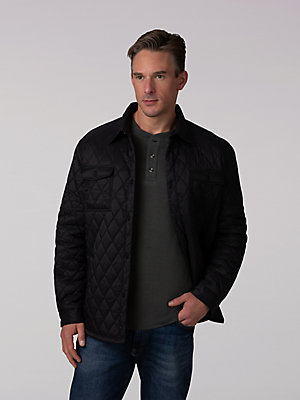 Men's Quilted Nylon Jacket