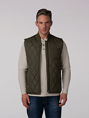 Men's Quilted Nylon Vest