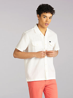 Men's Lee European Collection Short Sleeve Worker Shirt
