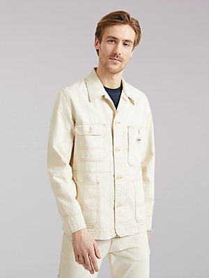 Men's Lee European Collection Back to Nature Box Pocket Loco Jacket
