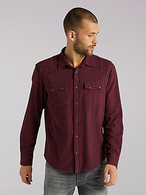 Men's Lee European Collection Flannel Rider Shirt