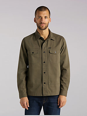 Men's Lee European Collection Military Worker Shirt