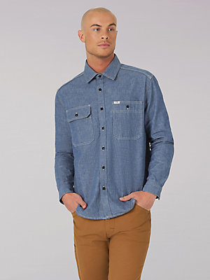 Men's Lee 101 Workwear Shirt